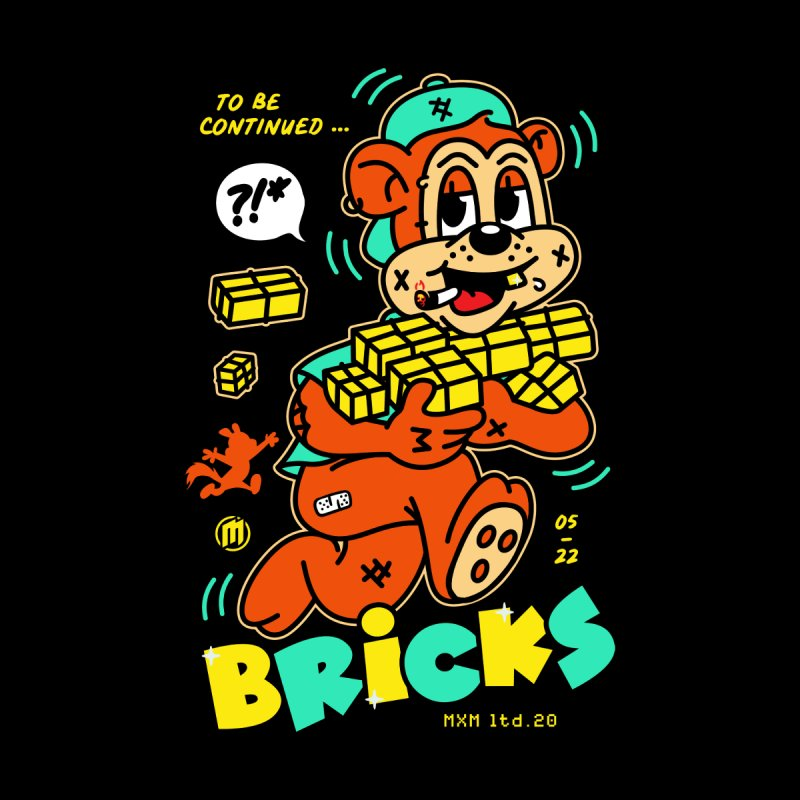 Bricks Skater's Skateboard by MAXIMOGRAFICO Ltd. Collection