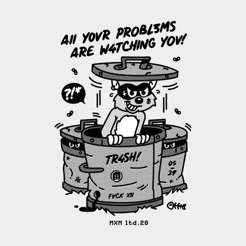 All your Problems Men's T-Shirt by MAXIMOGRAFICO Ltd. Collection