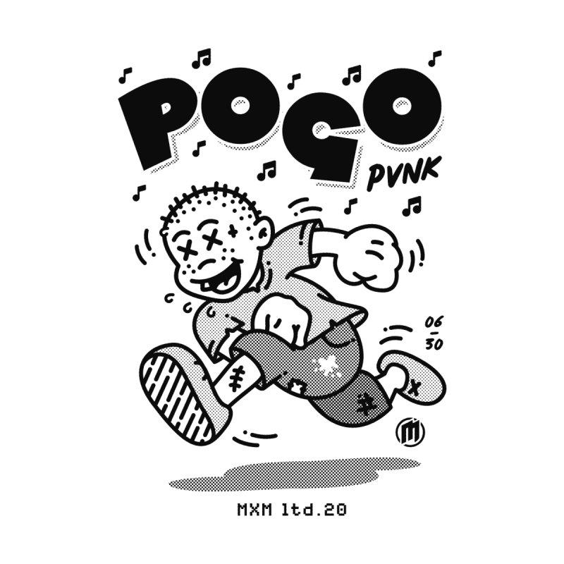 Pogo Punk Men's T-Shirt by MAXIMOGRAFICO Ltd. Collection