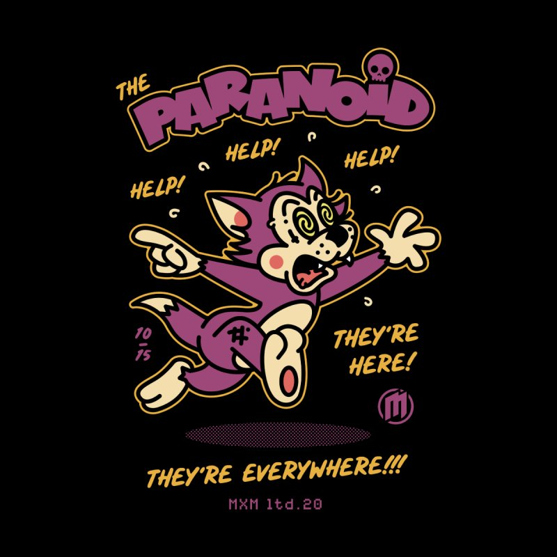The Paranoid unisex Sweatshirt by MAXIMOGRAFICO Ltd. Collection