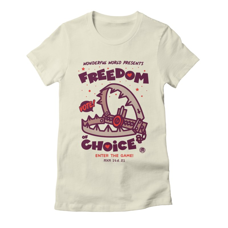 Choice Women's T-Shirt by MAXIMOGRAFICO Ltd. Collection