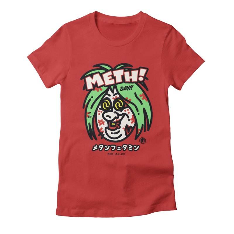Meth! Women's T-Shirt by MAXIMOGRAFICO Ltd. Collection