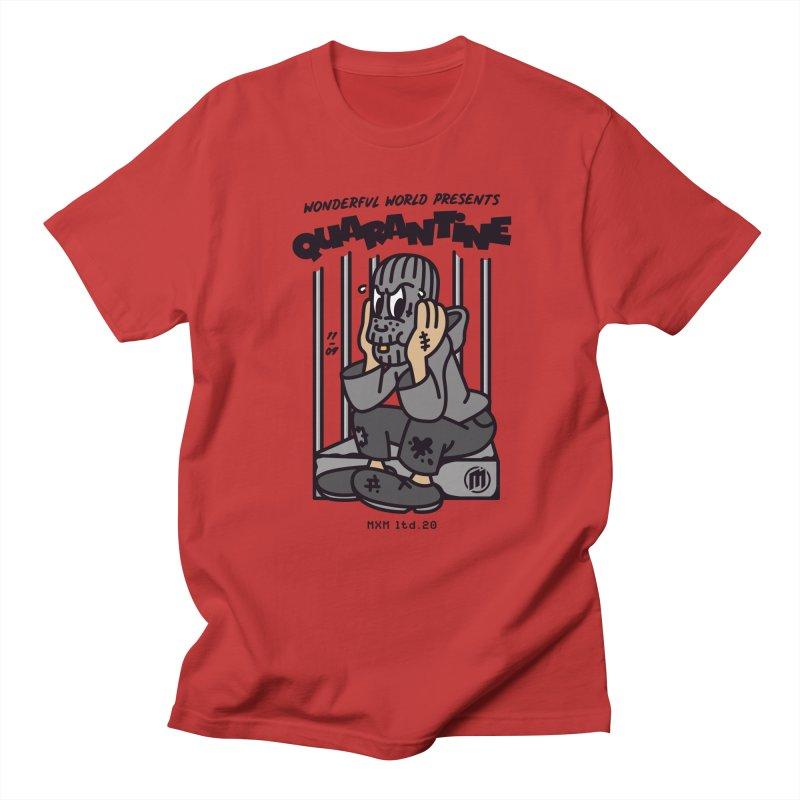 Quarantine Men's T-Shirt by MAXIMOGRAFICO Ltd. Collection