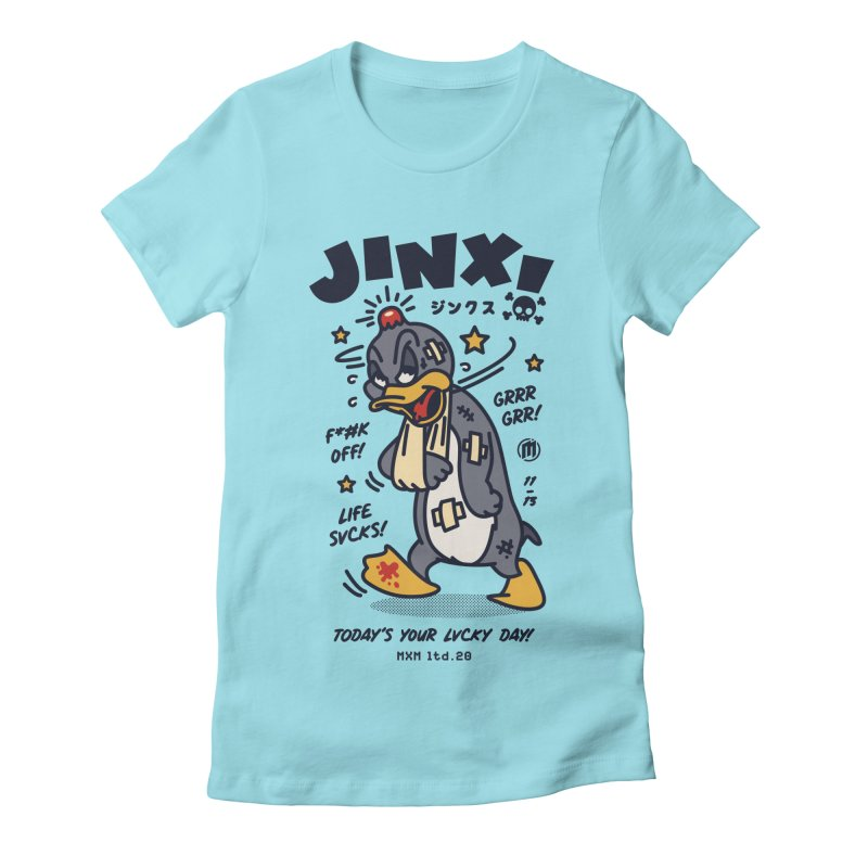 Jinx Women's T-Shirt by MAXIMOGRAFICO Ltd. Collection