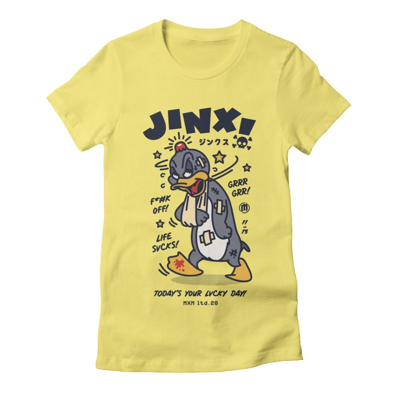 Jinx Women's T-Shirt by MAXIMOGRAFICO Ltd. Collection