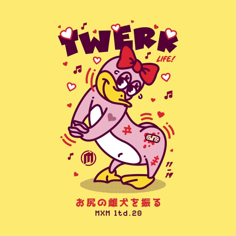 Twerk Women's T-Shirt by MAXIMOGRAFICO Ltd. Collection