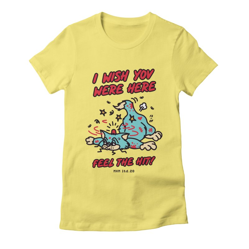 Wish you Women's T-Shirt by MAXIMOGRAFICO Ltd. Collection