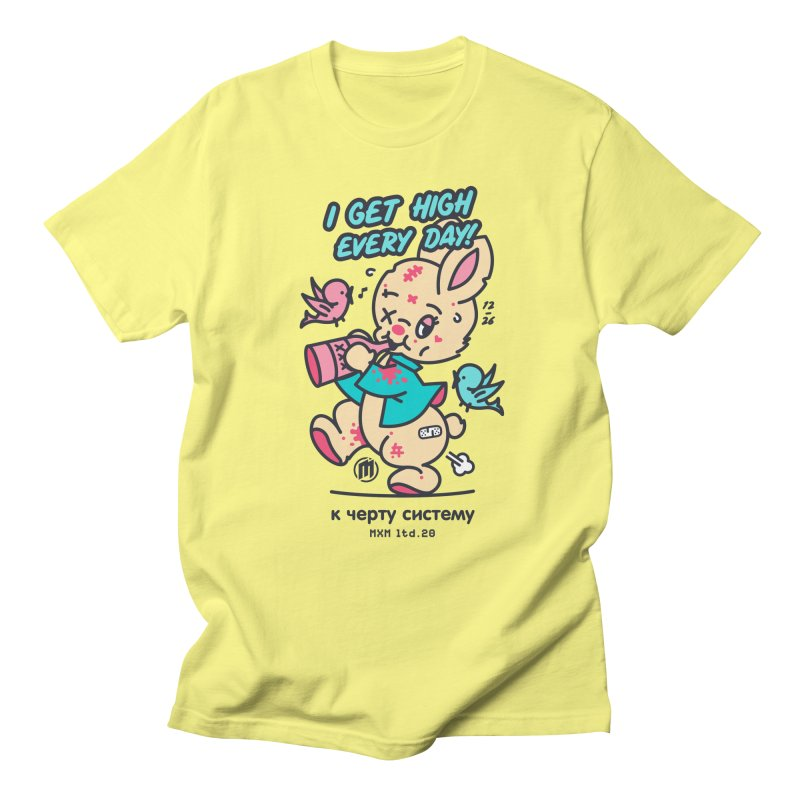 I get High Men's T-Shirt by MAXIMOGRAFICO Ltd. Collection