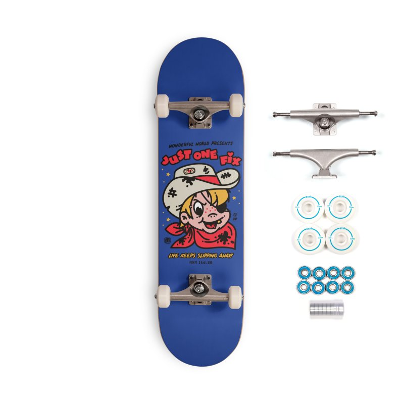 Just one fix Skater's Skateboard by MAXIMOGRAFICO Ltd. Collection