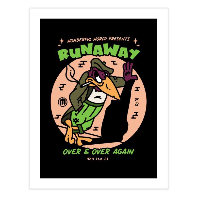 Runaway Decor Fine Art Print by MAXIMOGRAFICO Ltd. Collection