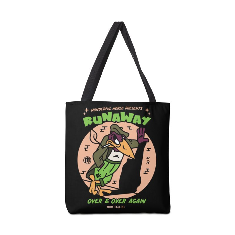 Runaway Skater's Bag by MAXIMOGRAFICO Ltd. Collection