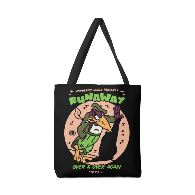 Runaway Skater's Bag by MAXIMOGRAFICO Ltd. Collection