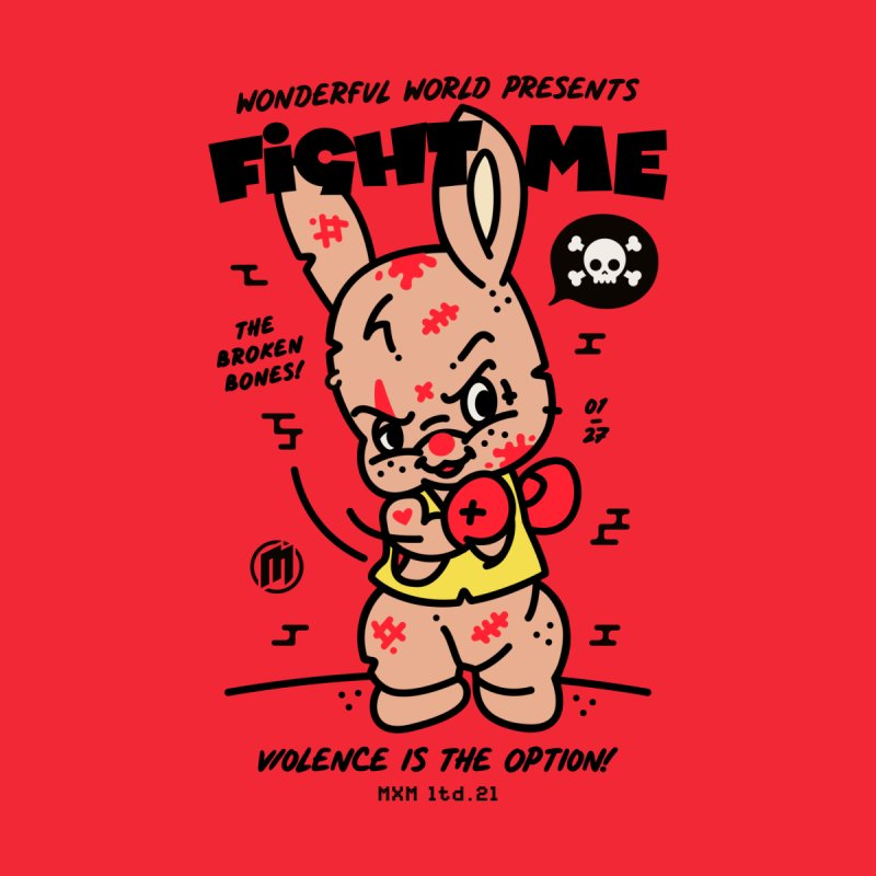 Fight me Men's T-Shirt by MAXIMOGRAFICO Ltd. Collection