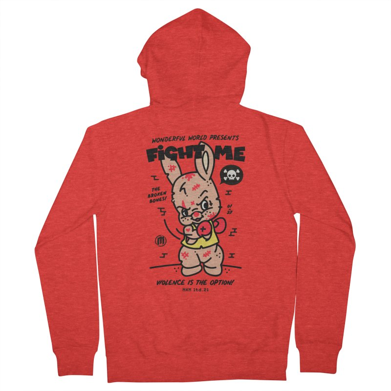 Fight me Women's Zip-Up Hoody by MAXIMOGRAFICO Ltd. Collection