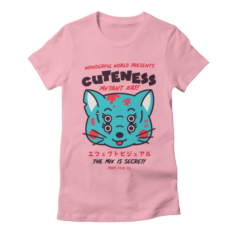 Cuteness Women's T-Shirt by MAXIMOGRAFICO Ltd. Collection