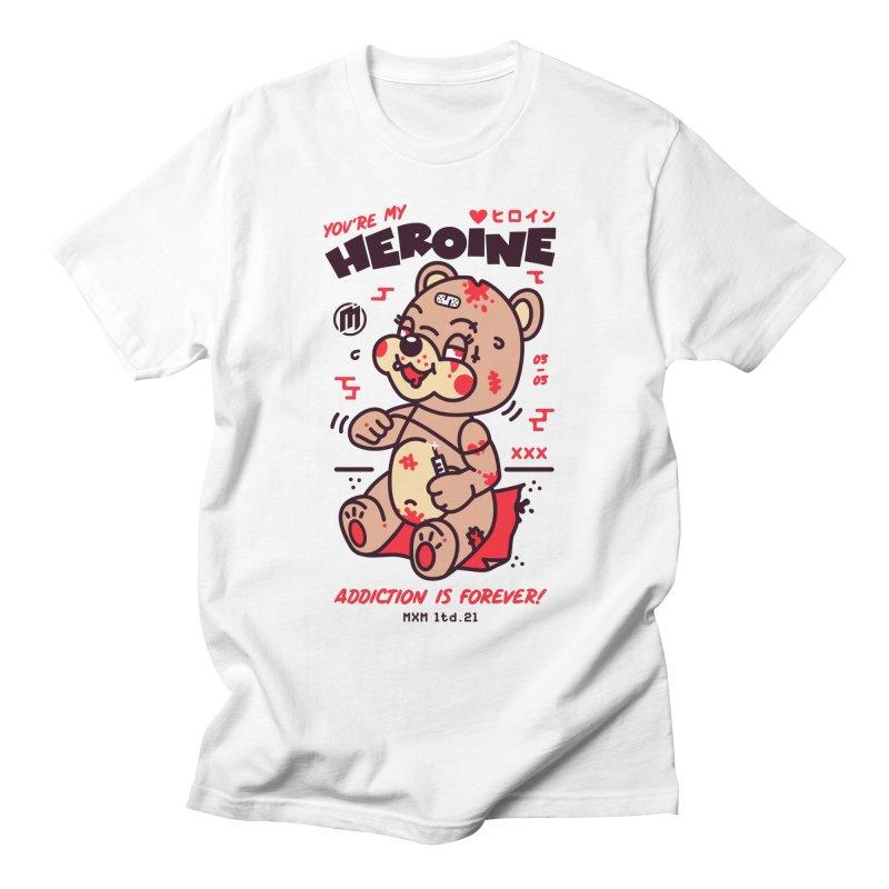 Addiction unisex T-Shirt by MAXIMOGRAFICO Ltd. Collection
