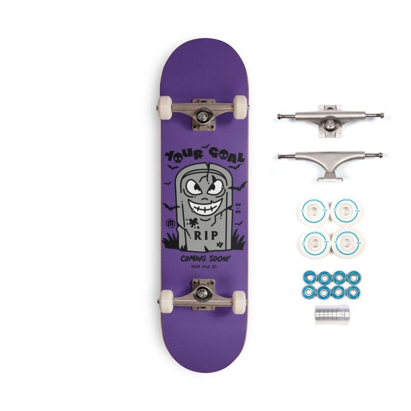 Your Goal Skater's Skateboard by MAXIMOGRAFICO Ltd. Collection
