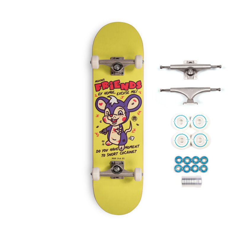 Making Friends Skater's Skateboard by MAXIMOGRAFICO Ltd. Collection