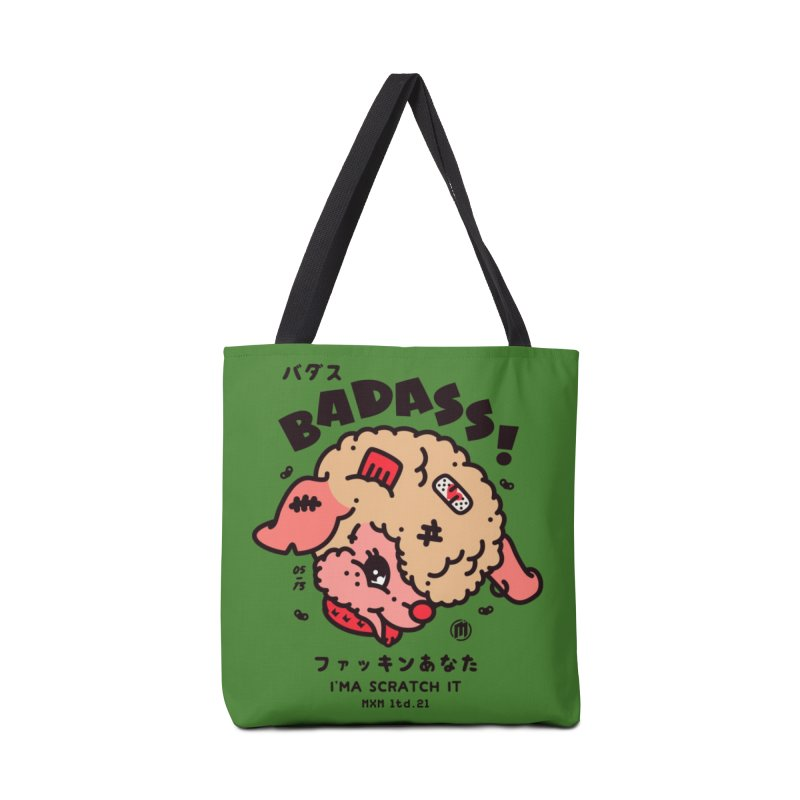 Badass! skaters Bag by MAXIMOGRAFICO Ltd. Collection