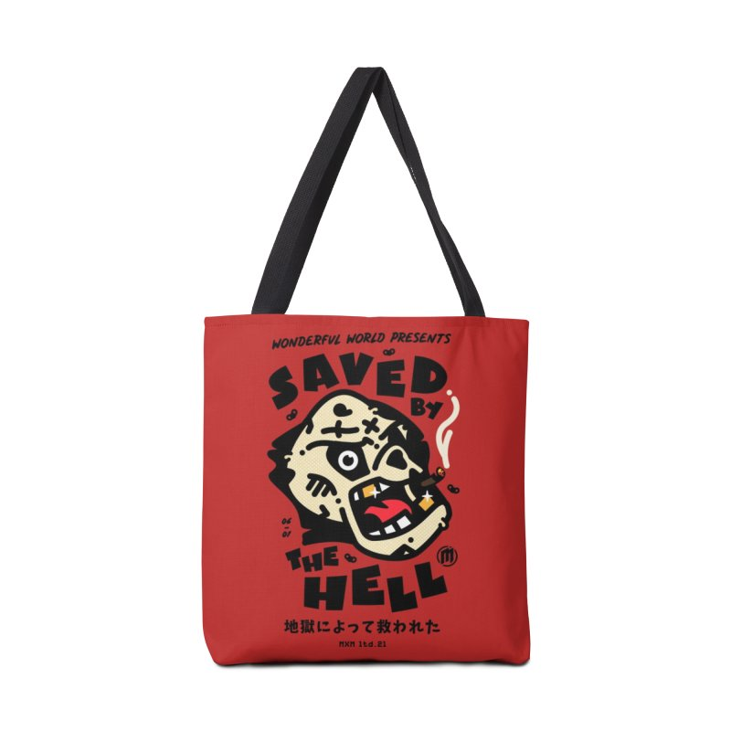 Saved by the Hell skaters Bag by MAXIMOGRAFICO Ltd. Collection