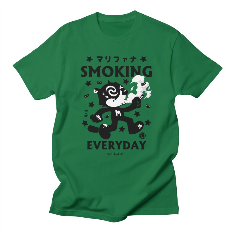 Smoking Everyday unisex T-Shirt by MAXIMOGRAFICO Ltd. Collection