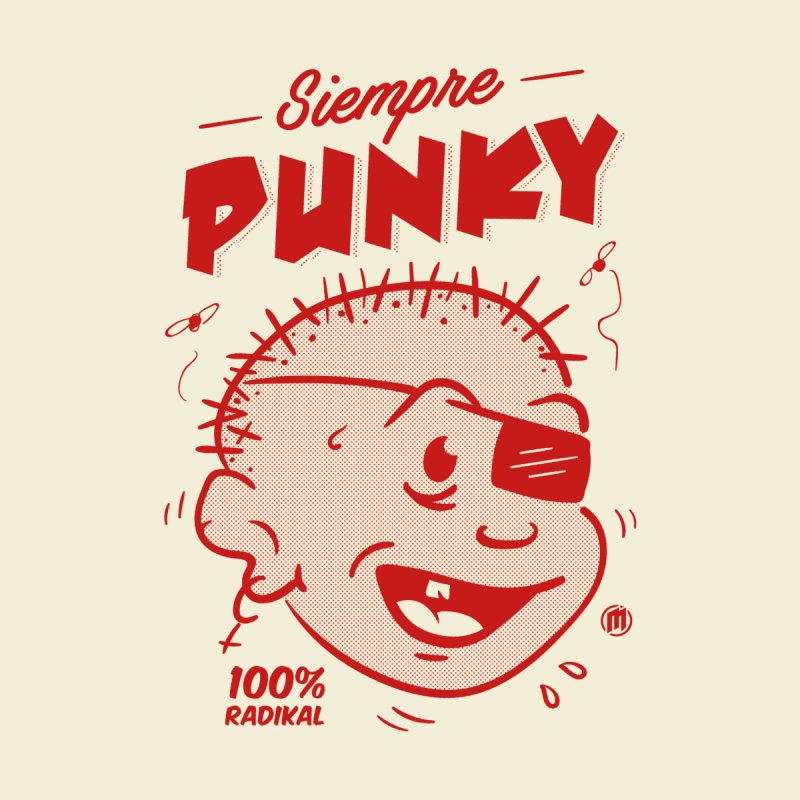 Siempre Punky Men's T-Shirt by MAXIMOGRAFICO Ltd. Collection
