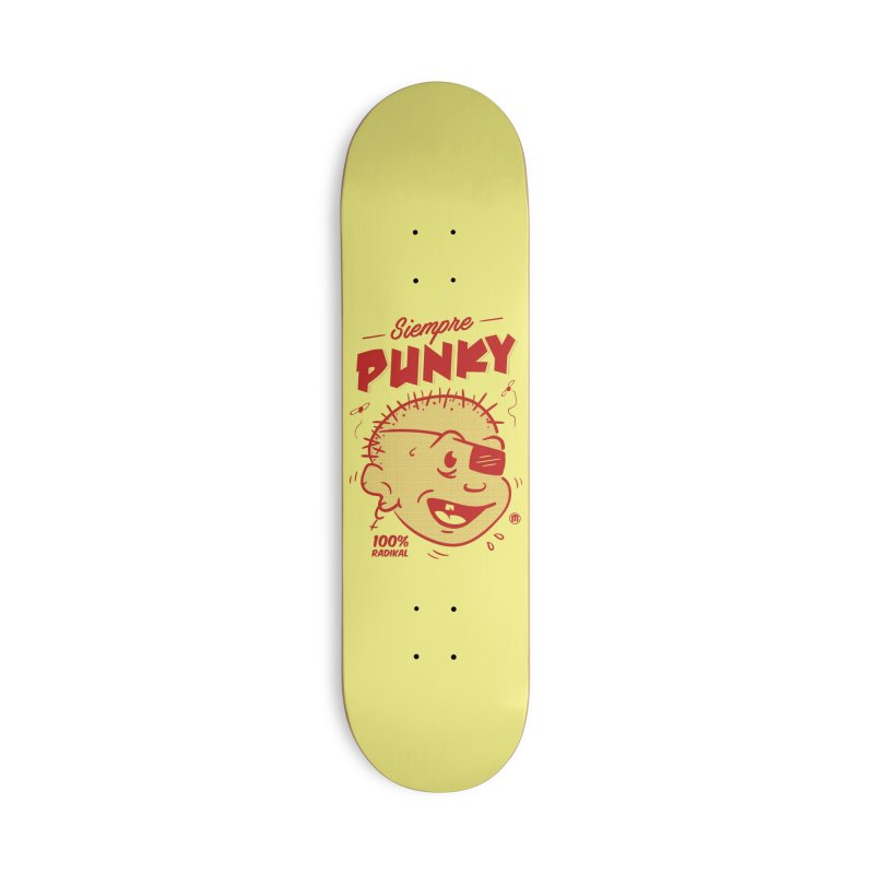 Siempre Punky Accessories Deck Only Skateboard by MXM — collection