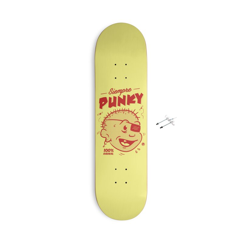 Siempre Punky Accessories With Hanging Hardware Skateboard by MXM — collection
