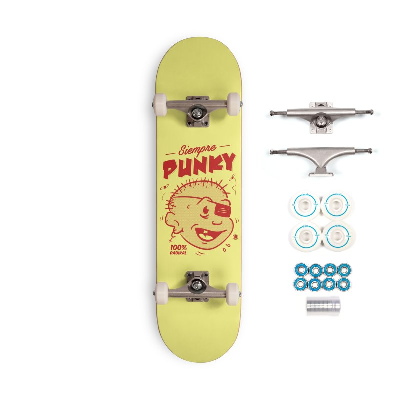 Siempre Punky Accessories Complete - Basic Skateboard by MXM — ltd. collection