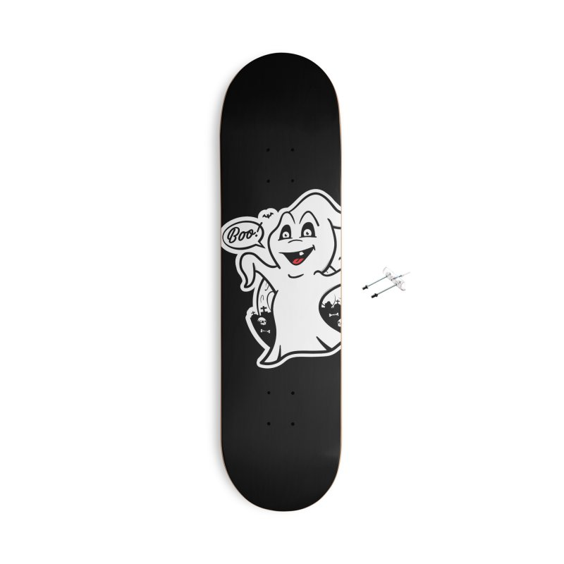Boo! Accessories With Hanging Hardware Skateboard by MXM — ltd. collection