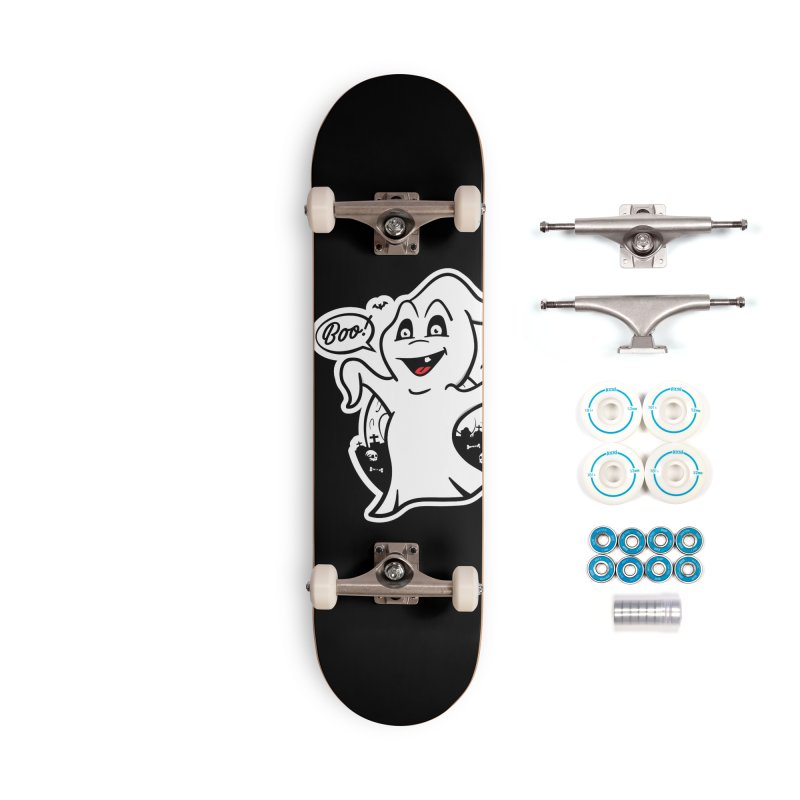 Boo! Accessories Complete - Basic Skateboard by MXM — ltd. collection