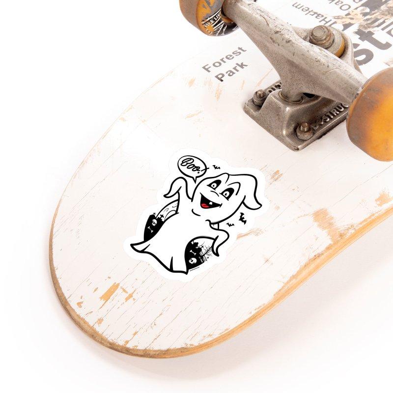 Boo! Accessories Sticker by MAXIMOGRAFICO — shop