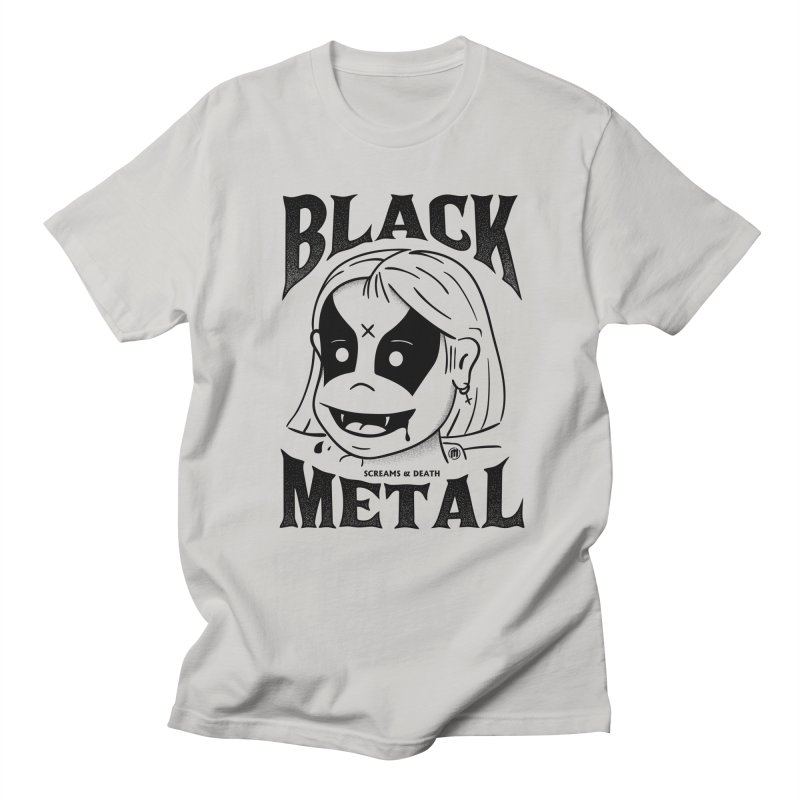 Black Metal Men's T-Shirt by MXM — ltd. collection