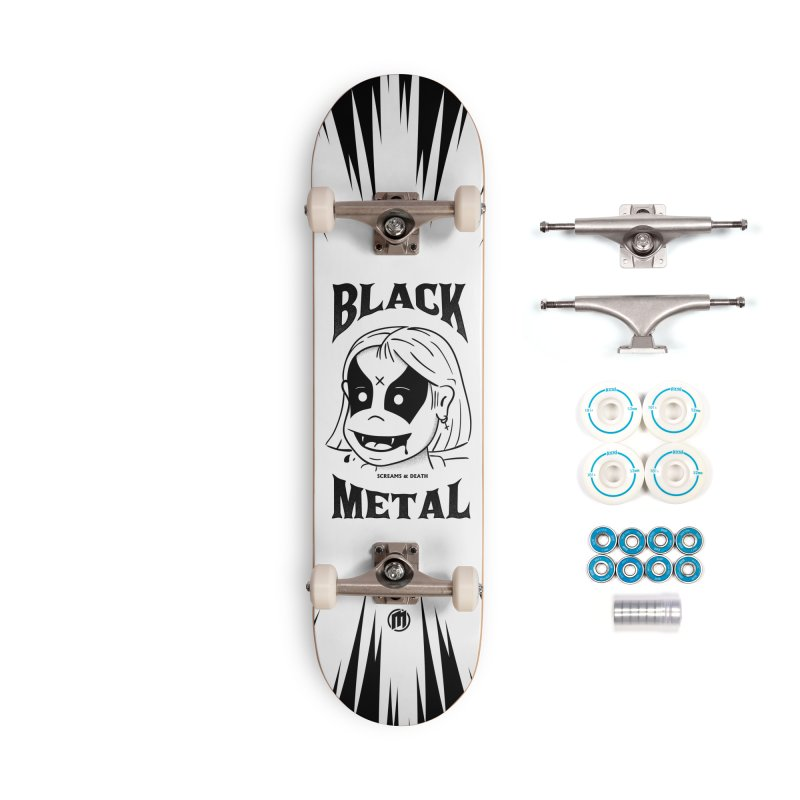 Black Metal Accessories Complete - Basic Skateboard by MXM — collection