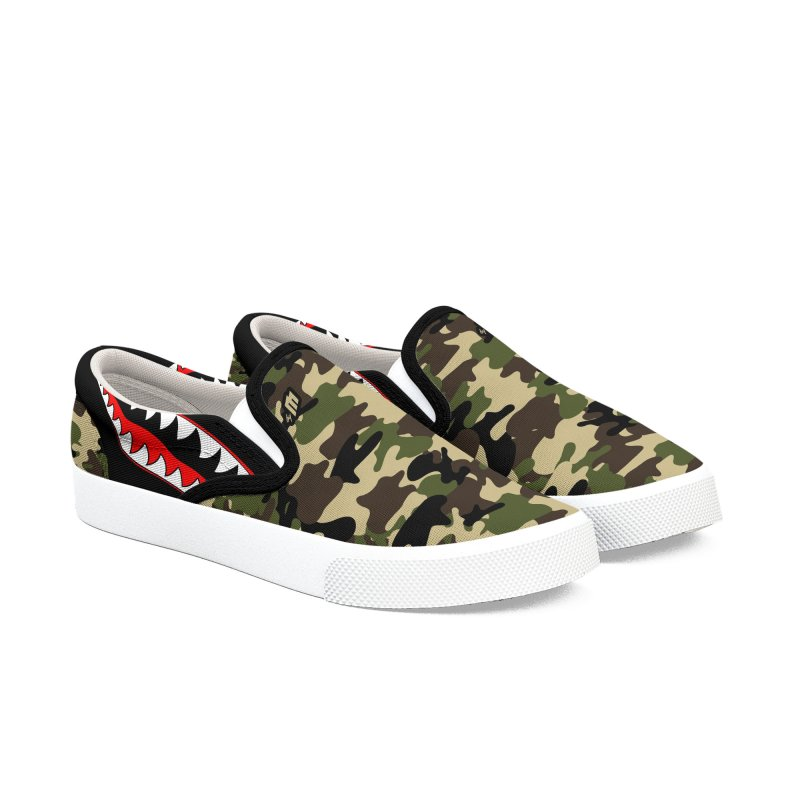 War II Men's Slip-On Shoes by MAXIMOGRAFICO — shop