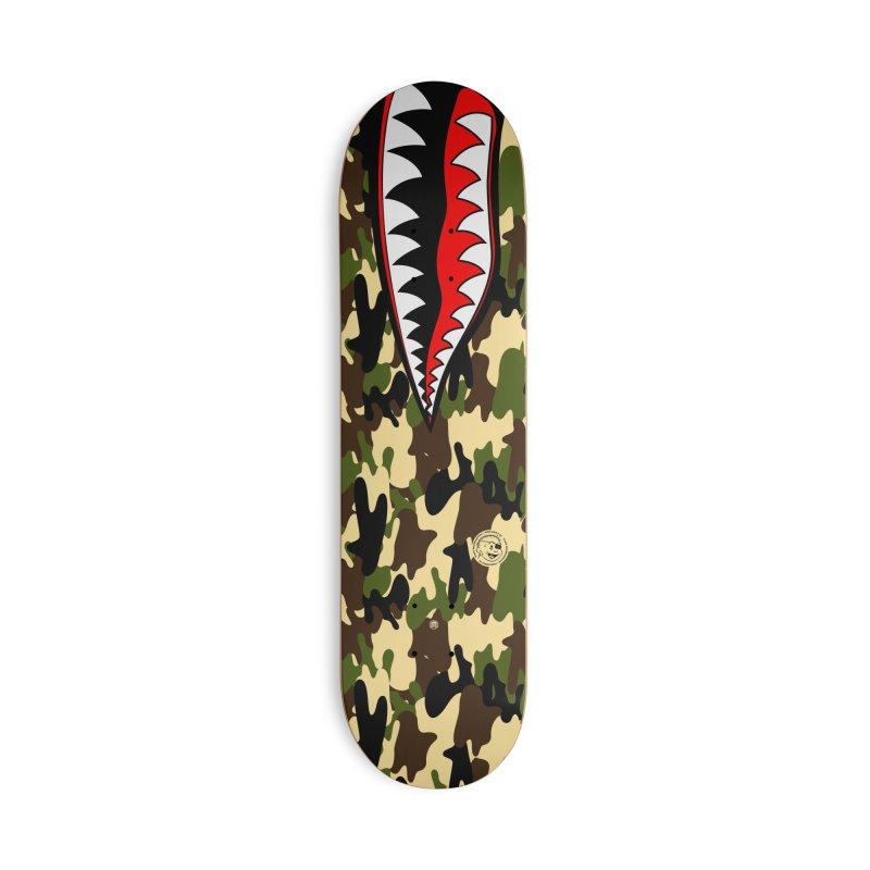 War II Accessories Skateboard by MAXIMOGRAFICO — shop