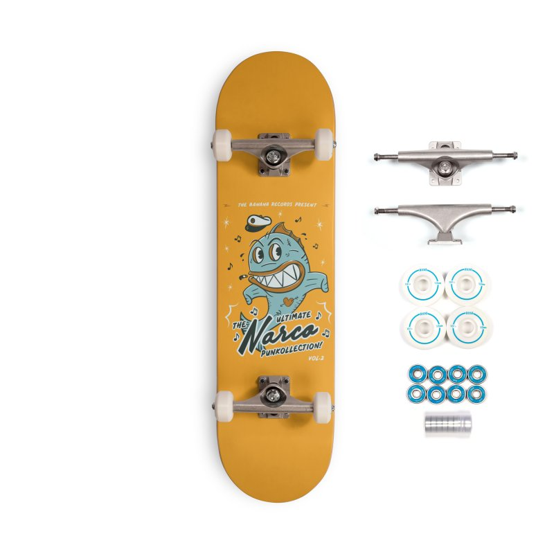 Punkollection vol2 Accessories Complete - Basic Skateboard by MXM — ltd. collection