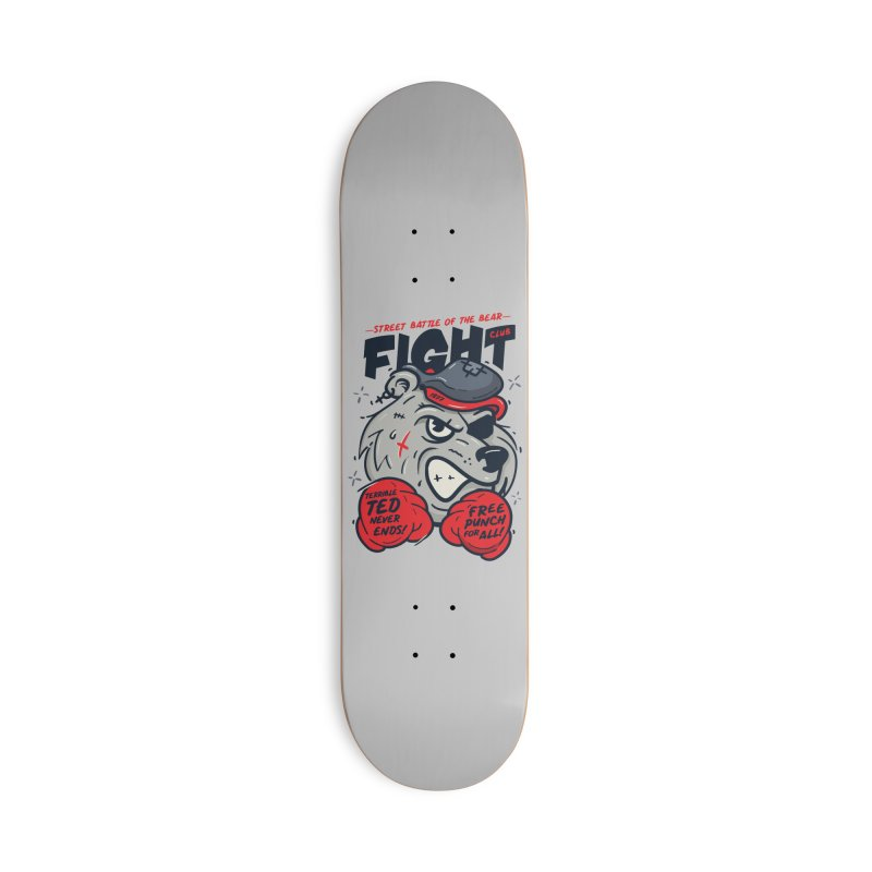 Terrible Ted Accessories Deck Only Skateboard by MAXIMOGRAFICO — shop