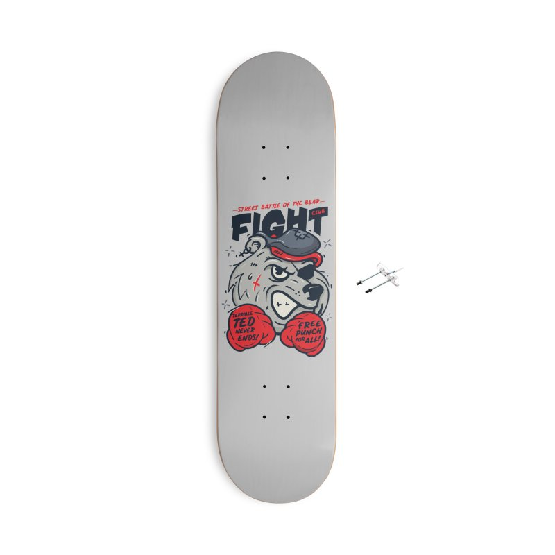 Terrible Ted Accessories With Hanging Hardware Skateboard by MAXIMOGRAFICO — shop