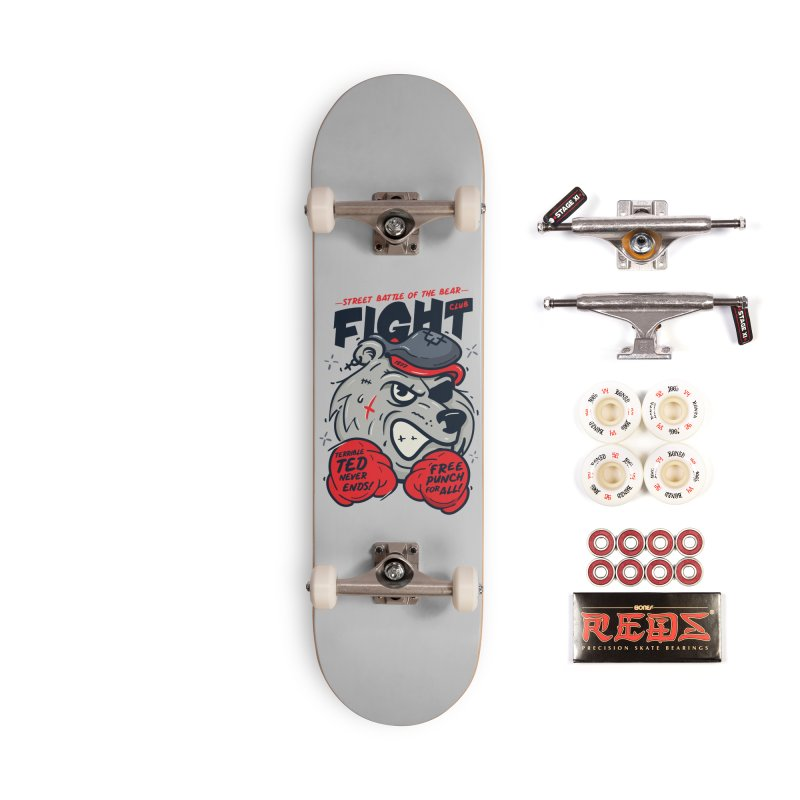 Terrible Ted Accessories Complete - Pro Skateboard by MAXIMOGRAFICO — shop