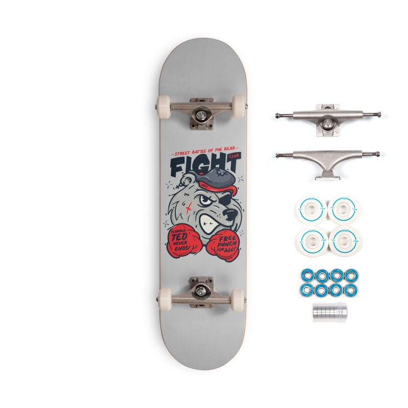 Terrible Ted Accessories Complete - Basic Skateboard by MAXIMOGRAFICO — shop