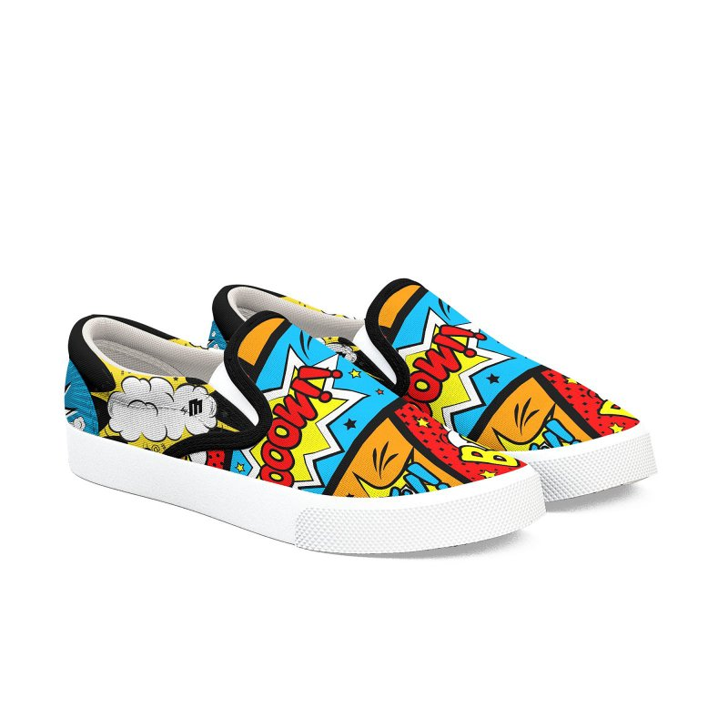 Comic Men's Slip-On Shoes by MAXIMOGRAFICO — shop