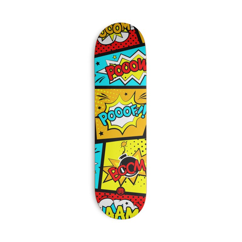 Comic Accessories Deck Only Skateboard by MAXIMOGRAFICO — shop