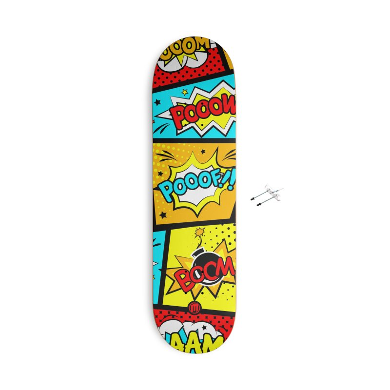 Comic Accessories With Hanging Hardware Skateboard by MAXIMOGRAFICO — shop