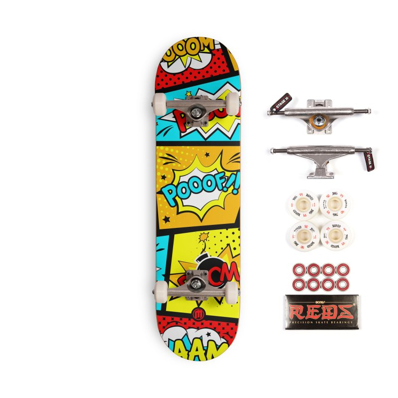 Comic Accessories Complete - Pro Skateboard by MAXIMOGRAFICO — shop