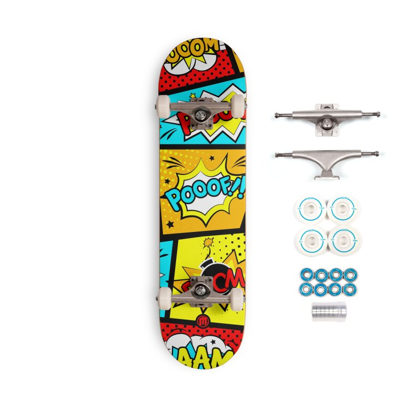 Comic Accessories Complete - Basic Skateboard by MAXIMOGRAFICO — shop