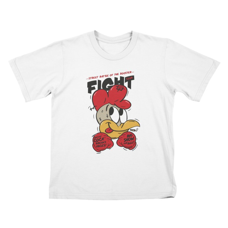 CockFight Kids T-Shirt by MAXIMOGRAFICO — shop