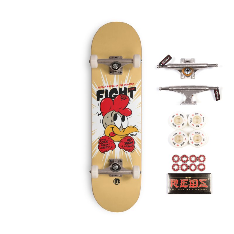 CockFight Accessories Complete - Pro Skateboard by MAXIMOGRAFICO — shop