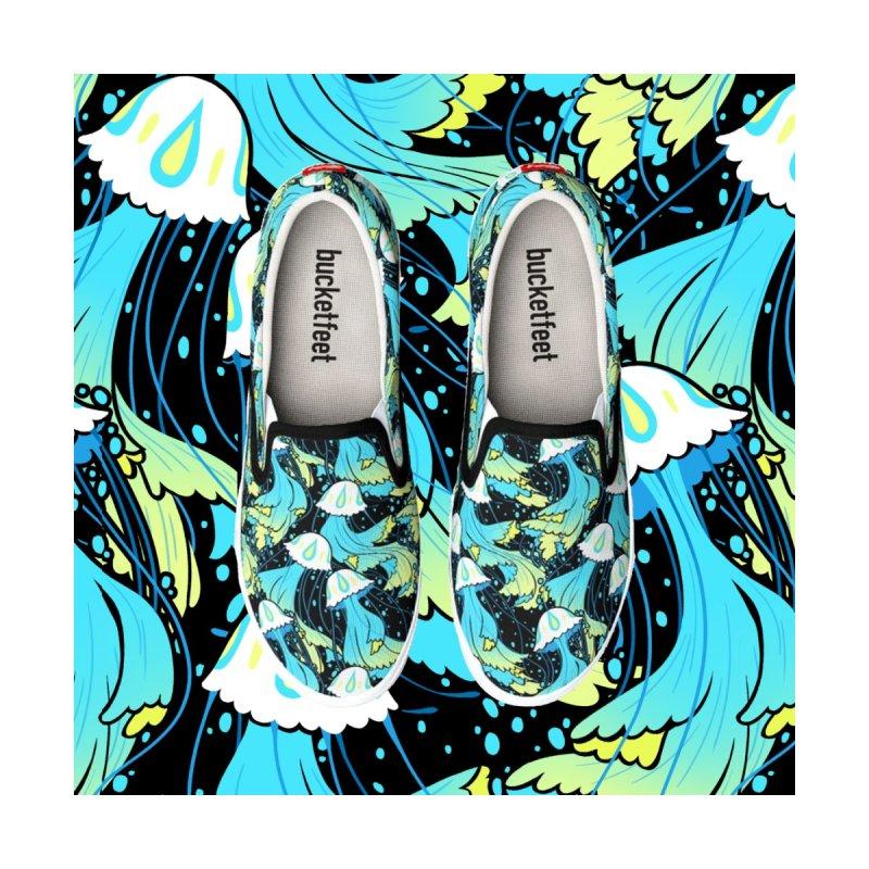 Dancing Jellyfish Men's Shoes by Maya Kern