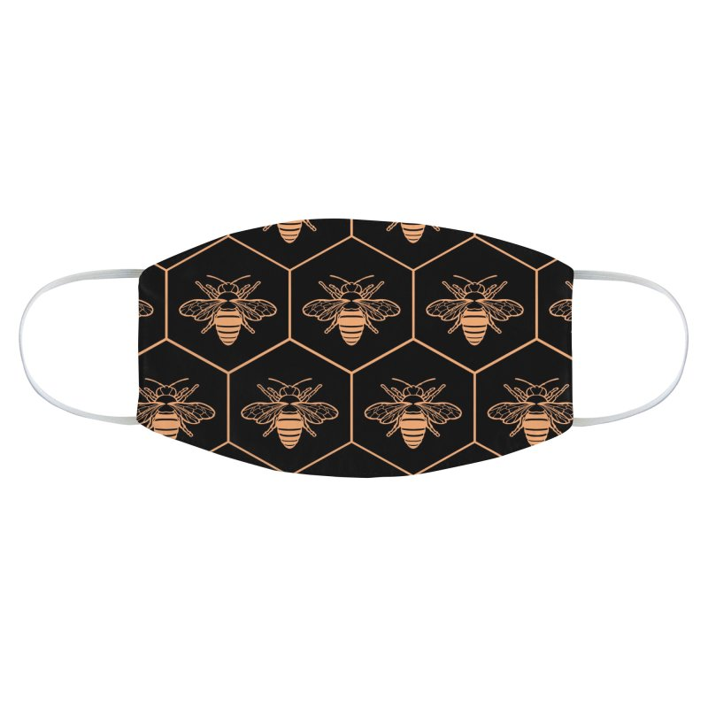 Bee flats Accessories Face Mask by Maya Kern